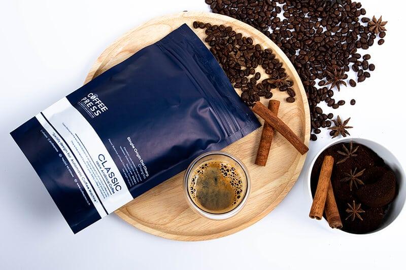 เมล็ดกาแฟ Arabica 100% Doi Chang จาก Coffee Press