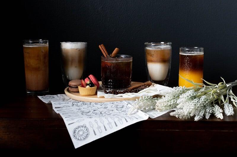 ภาพกาแฟทั้งหมดนี้ทำจากเครื่องชงกาแฟอัตโนมัติ Coffee Press